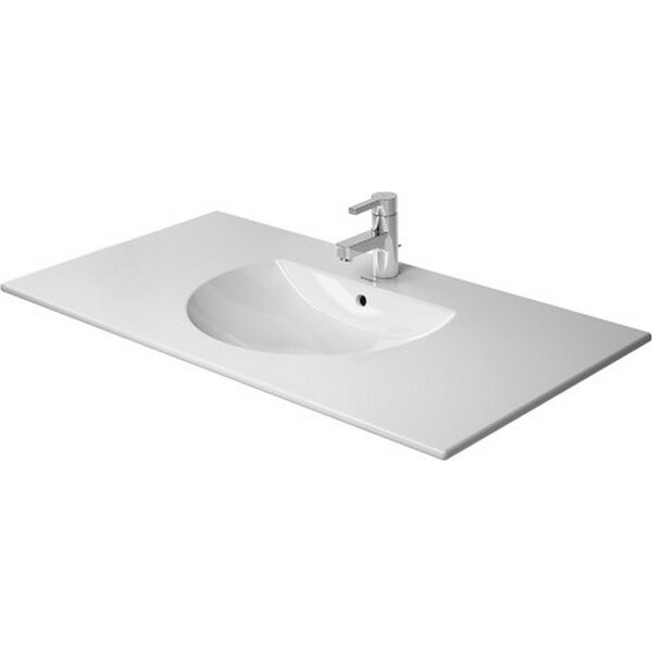 Darling New Ceramic Rectangular Drop-In Bathroom Sink with Overflow