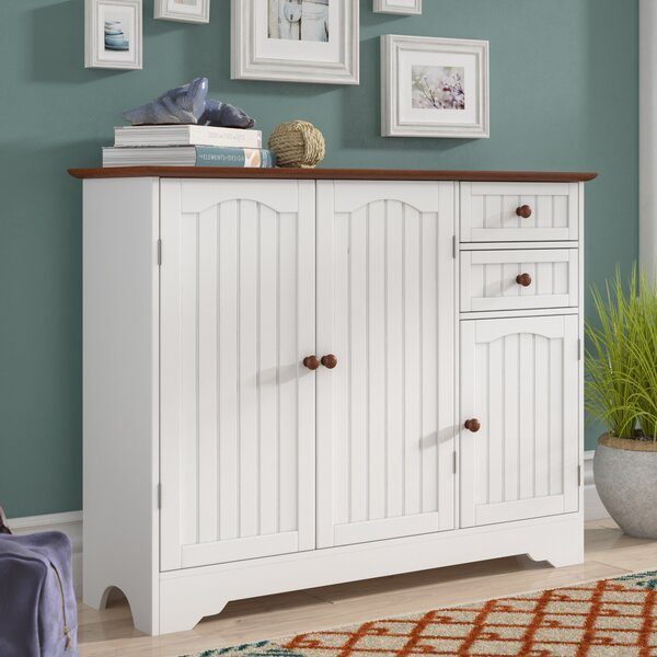 Giada Wood 3 Door Accent Cabinet by Beachcrest Home