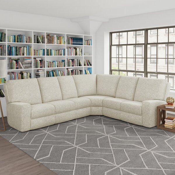 Patio Furniture Symmetrical Reclining Sectional