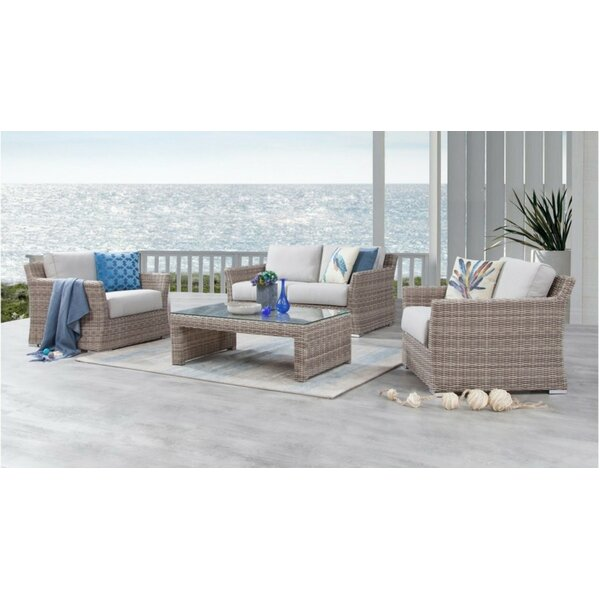 Searle 4 Piece Sofa Seating Group with Cushions by Ivy Bronx