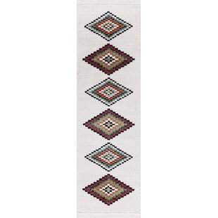 Inexpensive Rheba White Area Rug By Bungalow Rose