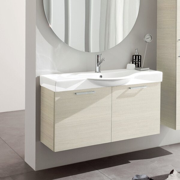 Light 41 Single Bathroom Vanity Set by Acquaviva