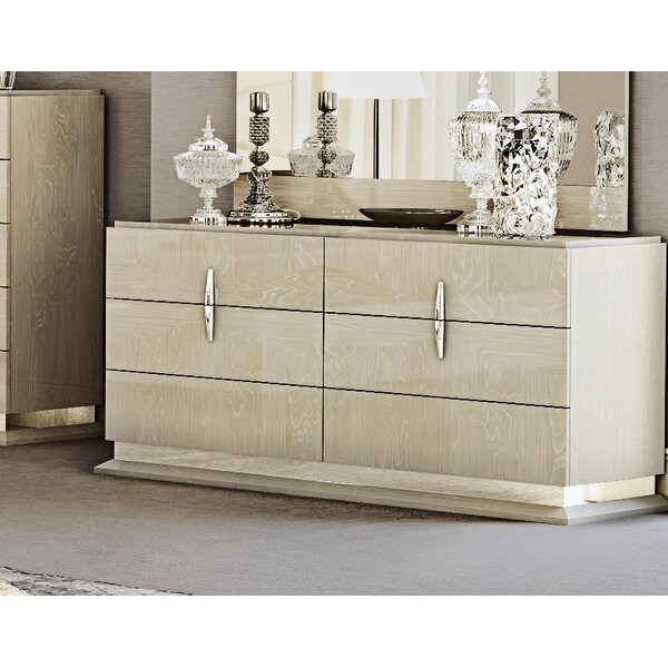 Kersh 6 Drawer Double dresser by Everly Quinn