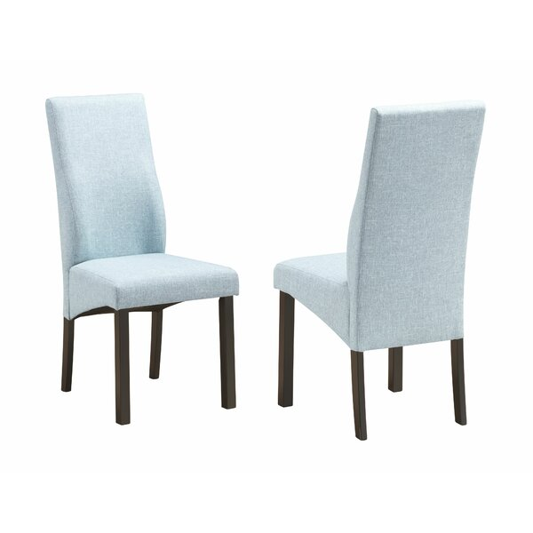 Nowak Upholstered Dining Chair (Set of 2) by Charlton Home