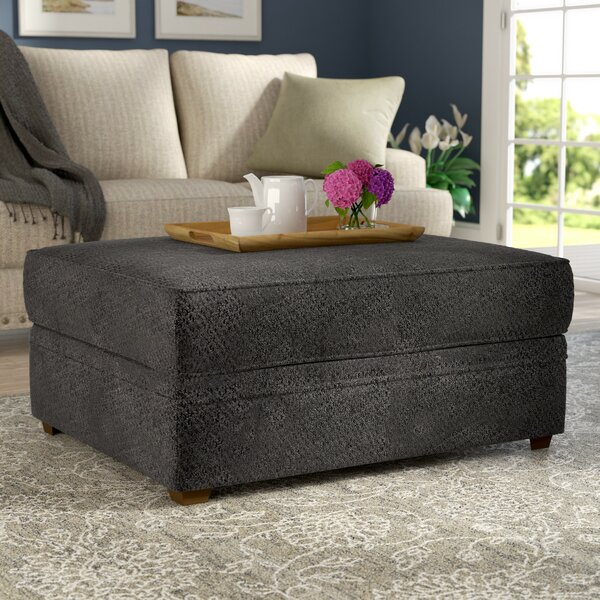 Dorothy Upholstery Ottoman by Darby Home Co