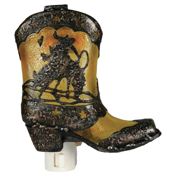 Cowboy Boot Night Light by River's Edge Products