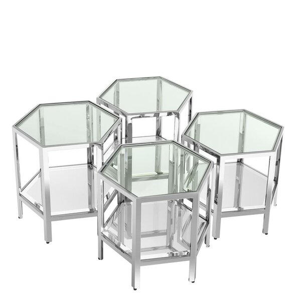 Aramis Coffee Table (Set of 4) by Eichholtz