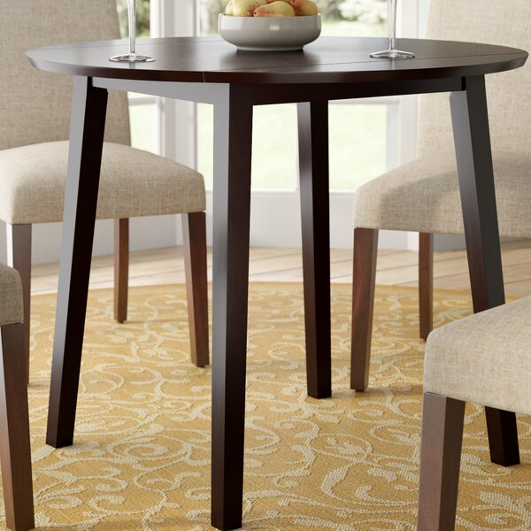 Rothe Drop Leaf Dining Table by Charlton Home