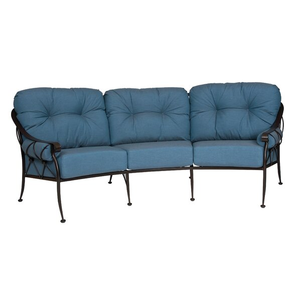 Derby Crescent Sofa With Cushions by Woodard Woodard