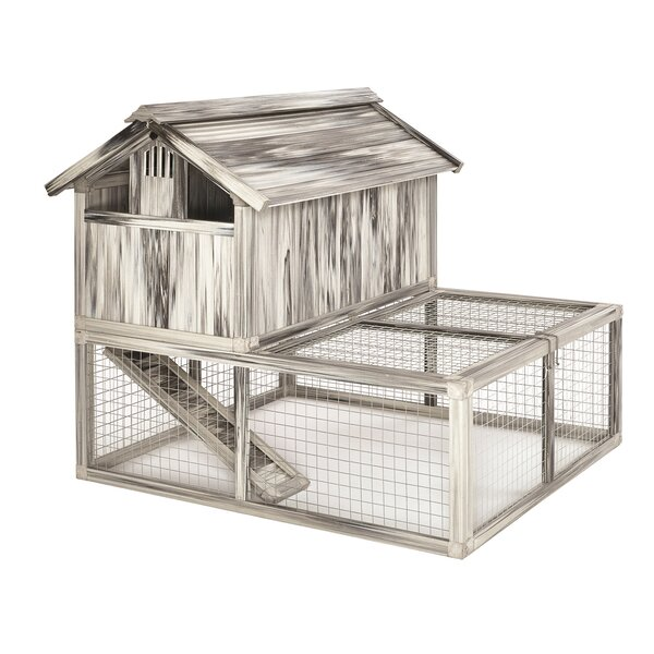 Dixon Composite Plastic/Wood Chicken Coop by Tucker Murphy Pet