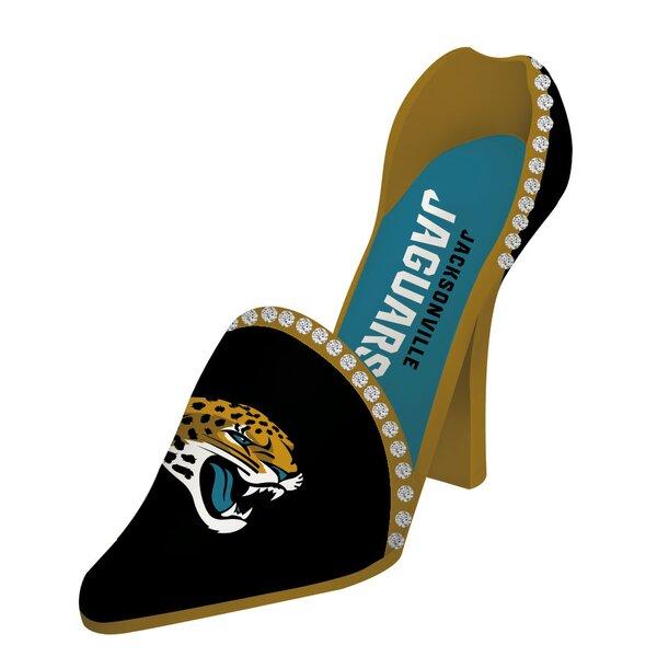 NFL Decorative Team Shoe 1 Bottle Tabletop Wine Rack by Team Sports America