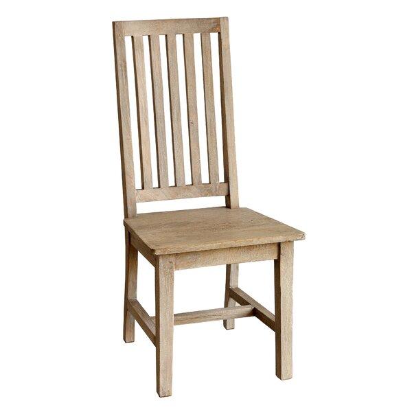 Kissling Solid Wood Slat Back Side Chair (Set of 2) by Ophelia & Co. Ophelia & Co.