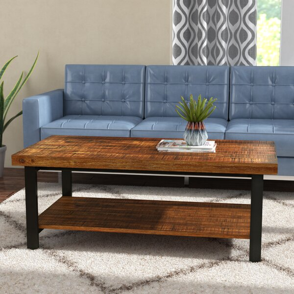 Hayles Coffee Table with Tray Top by Mercury Row