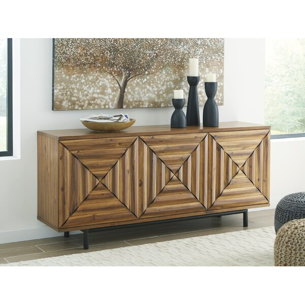 Brinton 3 Door Accent Cabinet by Union Rustic