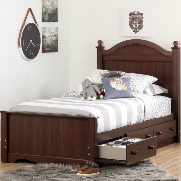 Savannah Twin Mate's & Captain's Bed with Drawers by South Shore