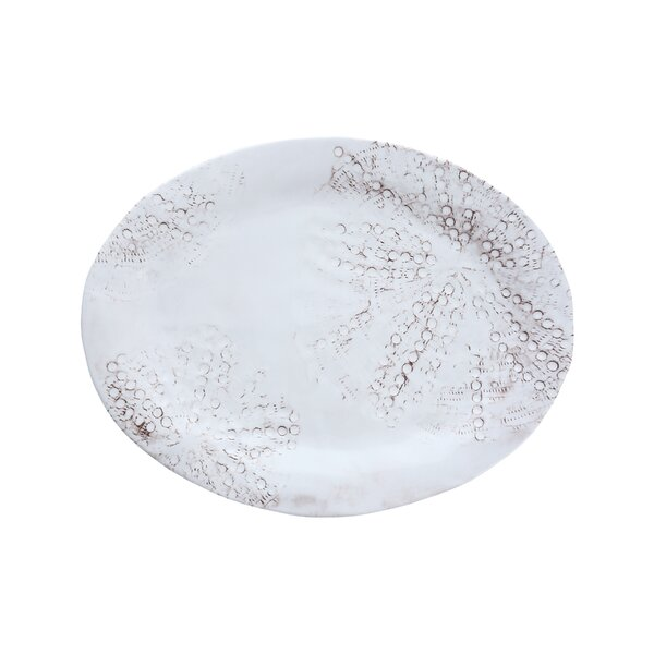 Eddie Oval Melamine Platter (Set of 4) by Fortessa
