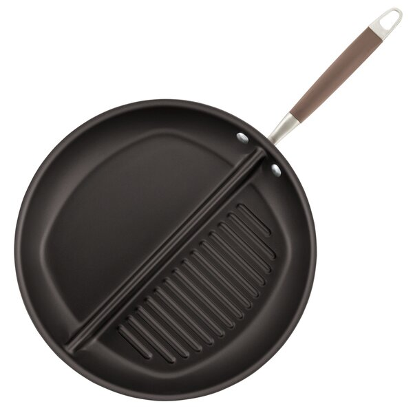 Advanced 12.5 Divided Non-Stick Grill and Griddle Pan by Anolon