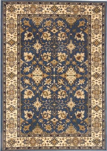 Columbus Dark Area Rug by Threadbind