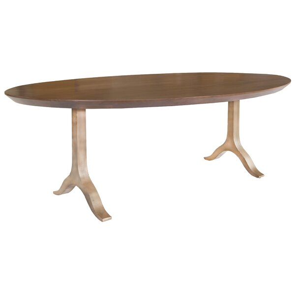 Merissa Solid Wood Dining Table by Foundry Select Foundry Select