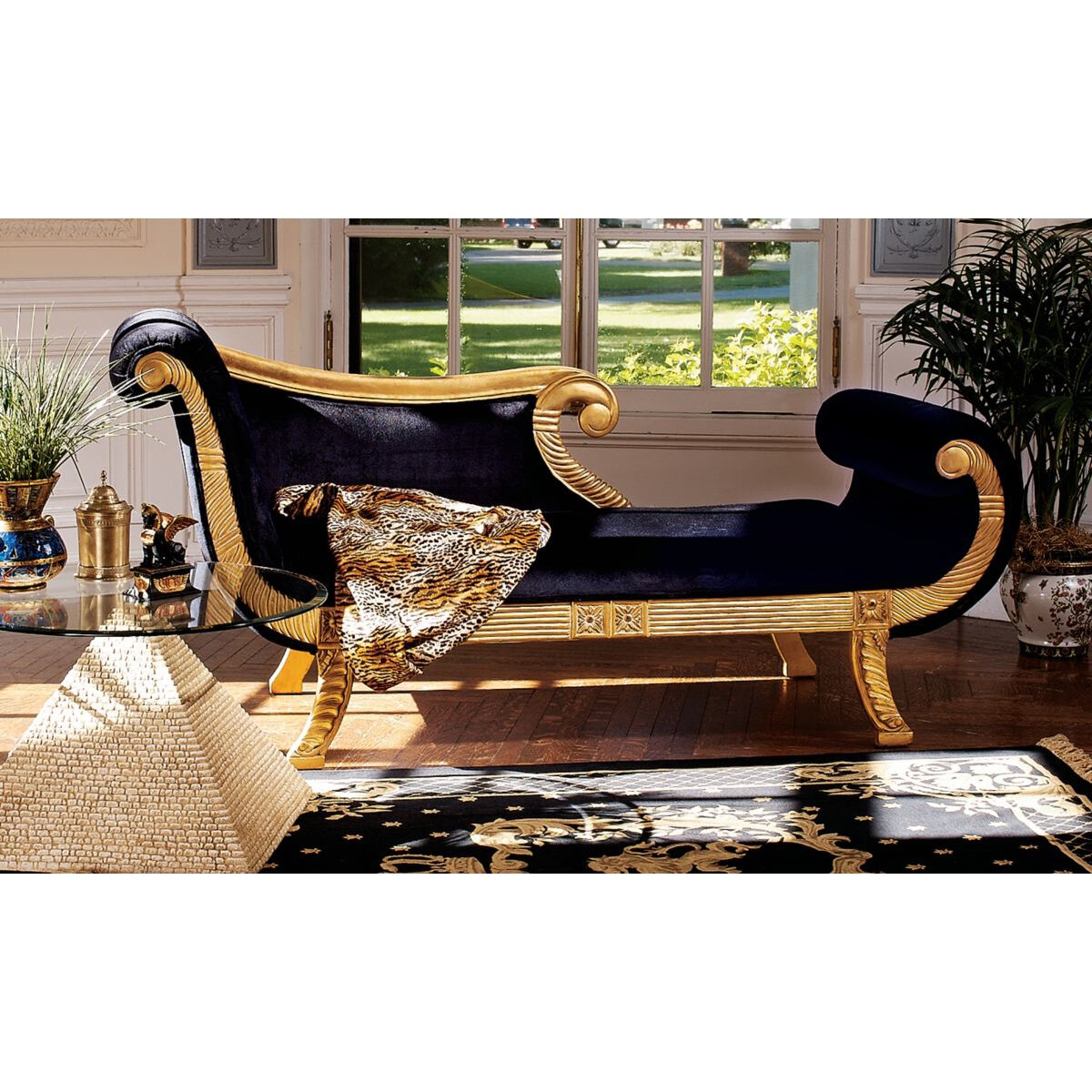 Excellent Cleopatra Neoclassica Chaise Lounge Gmtry Best Dining Table And Chair Ideas Images Gmtryco