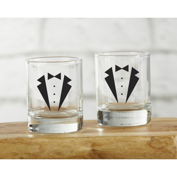 Dishman Shot Glass (Set of 4) by Ivy Bronx