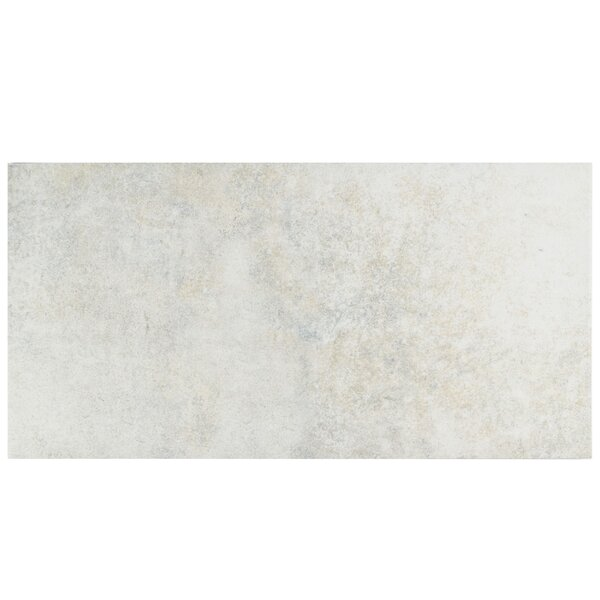 Villa 11 x 22.13 Porcelain Field Tile in Pearl White by EliteTile
