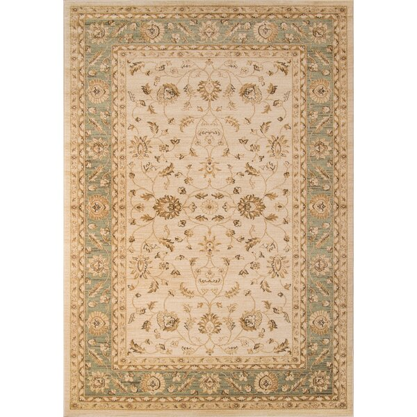Phoebe Ivory Area Rug by Charlton Home
