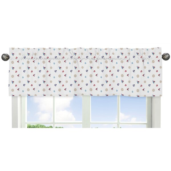 Nautical Nights 54 Window Valance by Sweet Jojo Designs