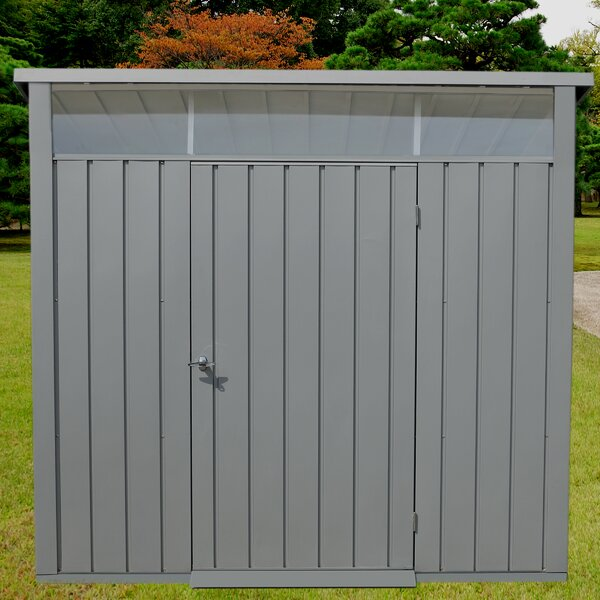 Palladium 8 ft. W x 6 ft. D Metal Storage Shed by Duramax Building Products