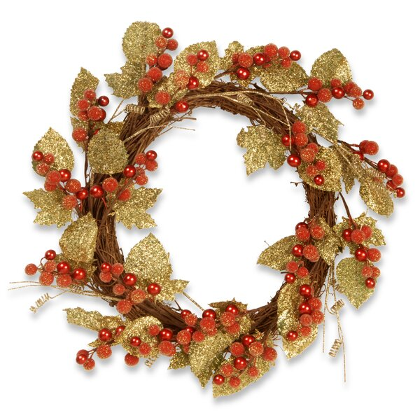 Berry and Leaf 24 Vine Wreath by National Tree Co.