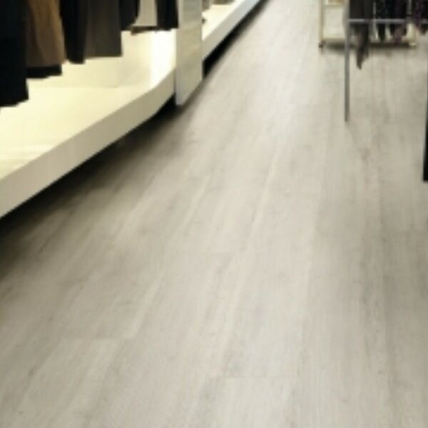 Xcore Connect 9 x 59 x 8mm Walnut Laminate Flooring in White Amber by Mats Inc.