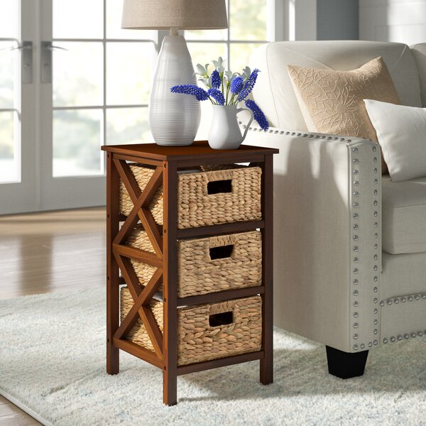Altenpohl End Table With Storage By August Grove