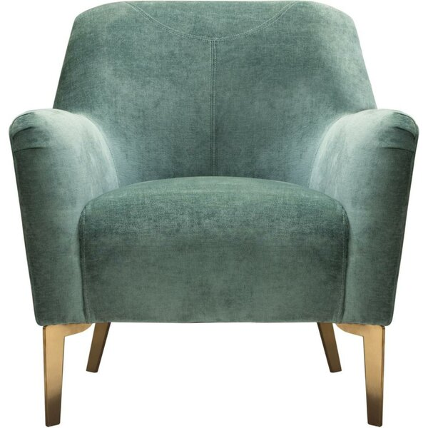 Dumfries Vertical Channel Tufted Armchair by Everly Quinn