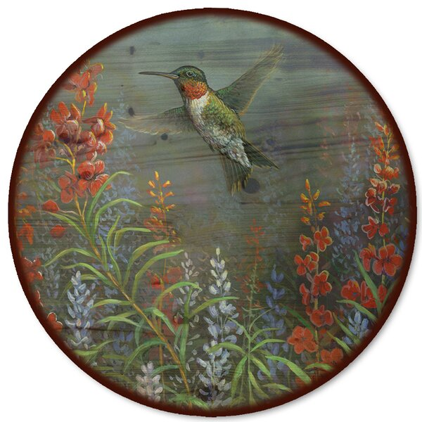 Summer Hummer Lazy Susan by WGI-GALLERY