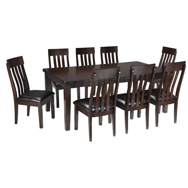 Bartons Bluff 9 Piece Dining Set by Red Barrel Studio