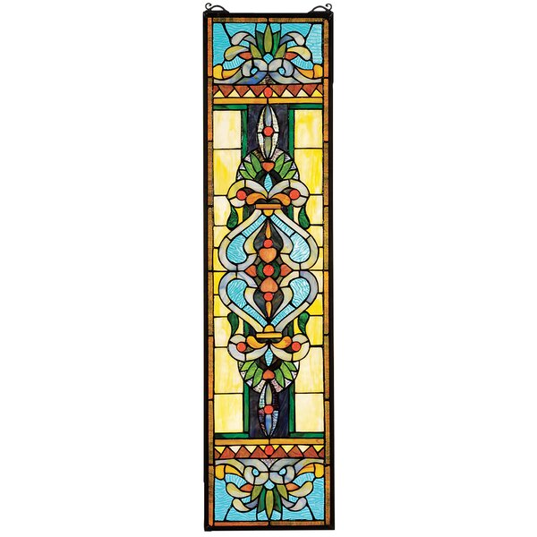 Blackstone Hall Stained Window Panel by Design Toscano