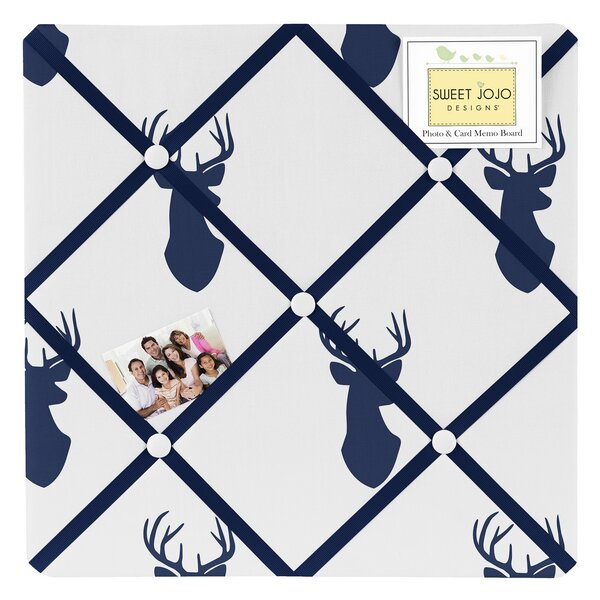Woodland Deer Wall Mounted Photo Memo Board by Sweet Jojo Designs