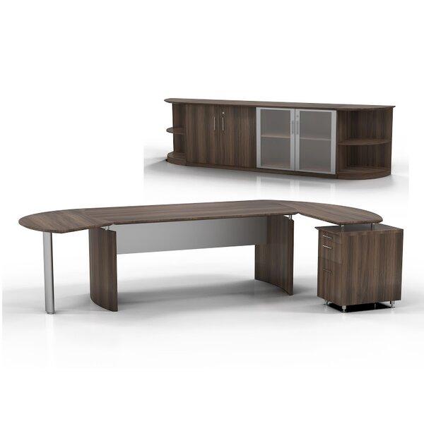 Medina 7-Piece Standard Desk Office Suite by Mayline Group