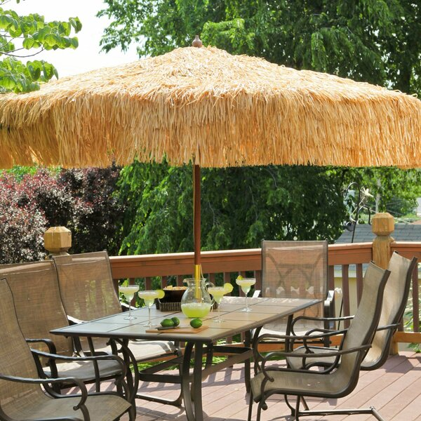 9' Tropical Patio Umbrella by Parasol Parasol