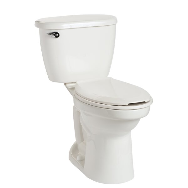 Cascade HET SmartHeight 1.28 GPF Elongated Two-Piece Toilet by Mansfield Plumbing Products