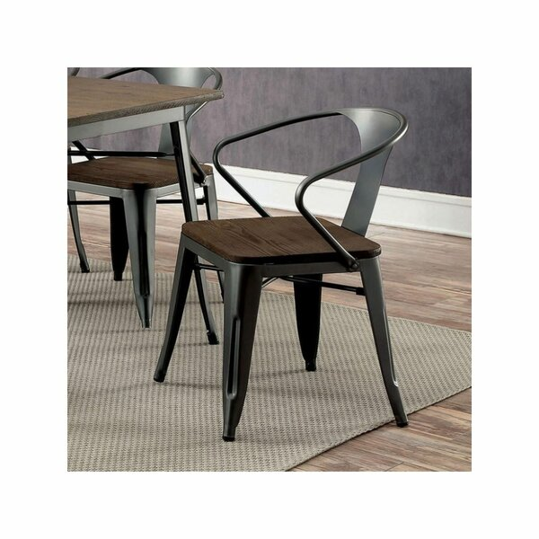 Nicholls Solid Wood Dining Chair (Set of 2) by 17 Stories