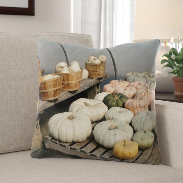 Willman Pumpkins Indoor/Outdoor Throw Pillow