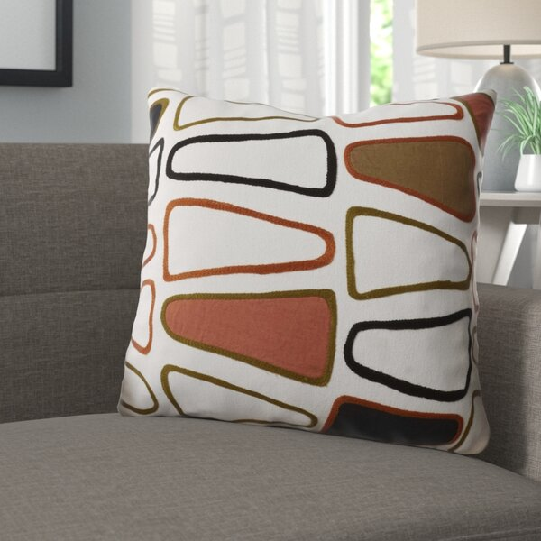 Geddes Cotton Throw Pillow by George Oliver