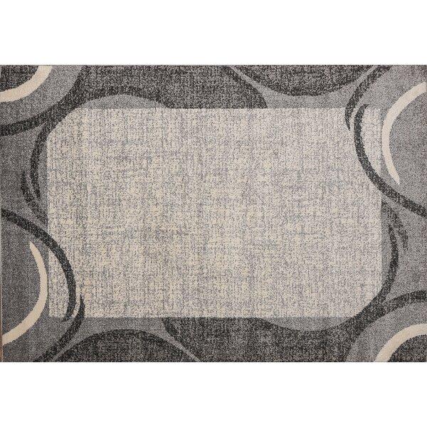 Swing Graybeige Area Rug By Ebern Designs.