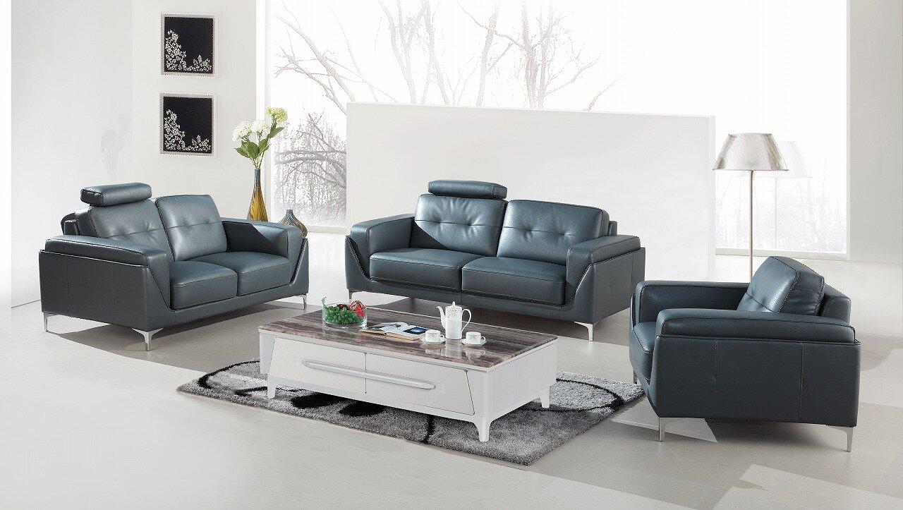 Orren Ellis Coalpit Heath 3 Piece Living Room Set & Reviews | Wayfair