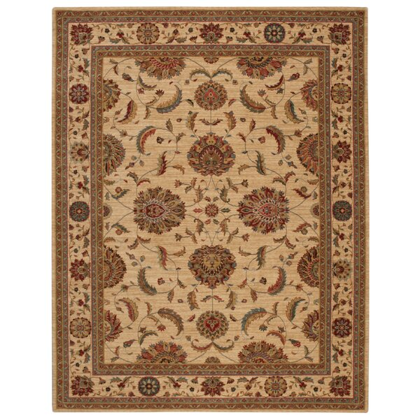 Crownover Ivory Area Rug by Darby Home Co