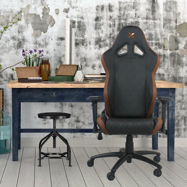 Ferrino Line Diamond Patterned Gaming Chair by RapidX