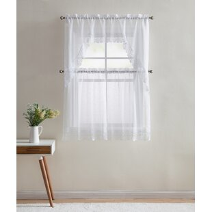 Ordinaire Ruffled Cape Cod Curtains | Wayfair