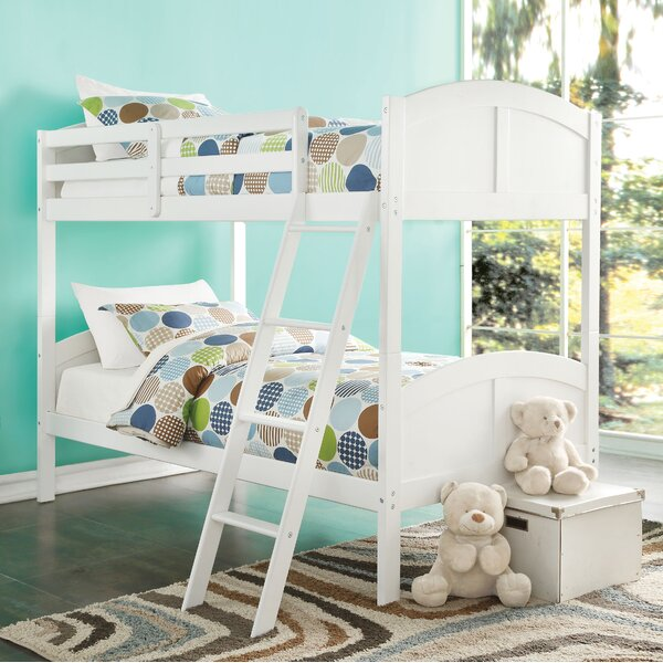 Tickmacrevan Twin Bunk Bed by Harriet Bee
