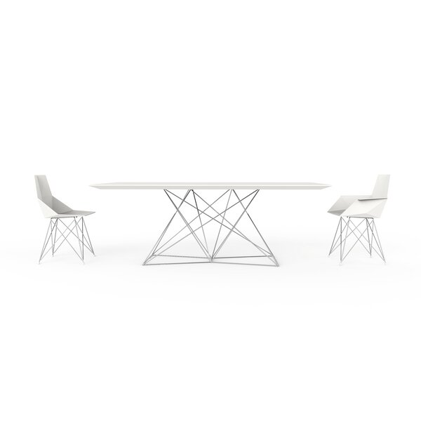 Faz Manufactured Wood Dining Table by Vondom
